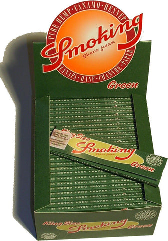 Smoking Green King Size (50x33)