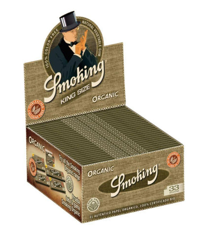 Smoking Organic King Size (50x33) - CBD Discounter