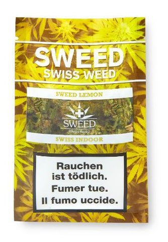Sweed-Sweed Lemon Indoor-CBD Tabakersatz-CBD Discounter