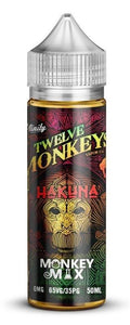 Twelve Monkeys Liquid 50ml Hakuna 0mg - CBD Discounter