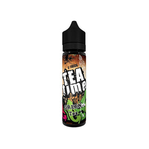 VOVAN Liquid 50ml Tea Time Green Tea - CBD Discounter
