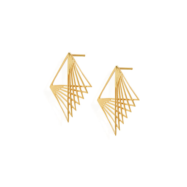 Gold simple earrings for women, Gold necklace for women,  Jewelry for girlfriend, minimalist jewellery, real gold jewelry, buy gold earrings