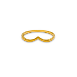 Crown ring, gold rings for women, fine jewellery
