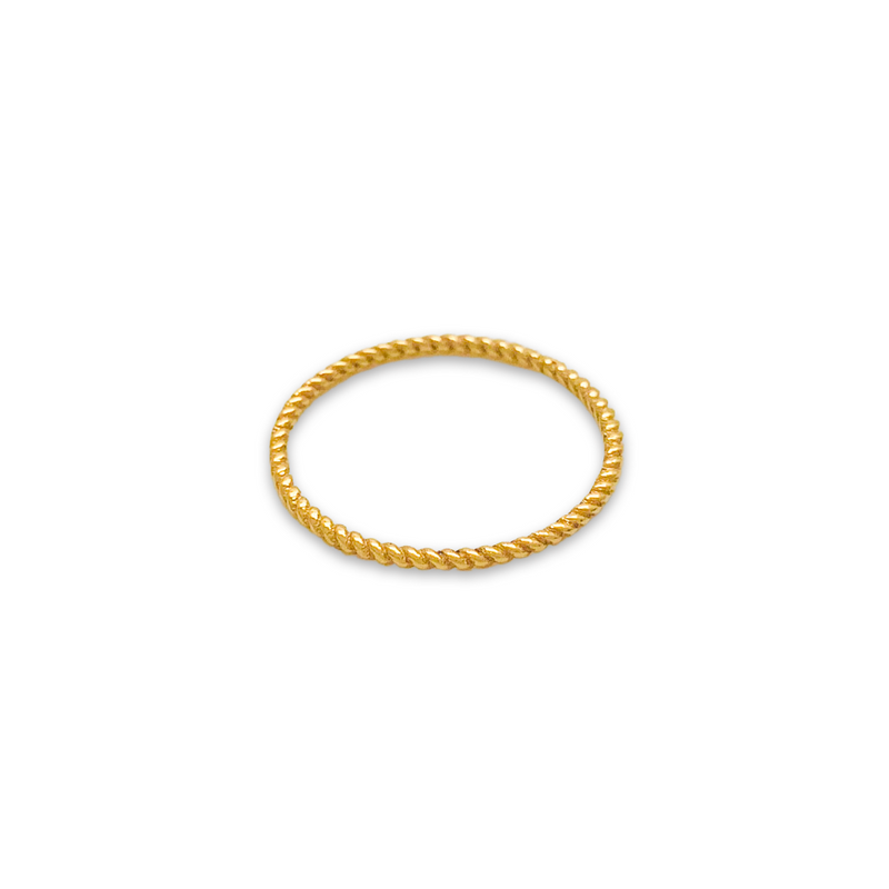 twisty ring, gold twisty ring, gold ring for women, fine jewellery