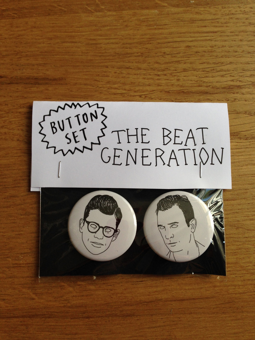 BEAT GENERATION button set