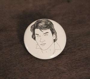 PATRICK SWAYZE badge