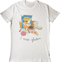 Load image into Gallery viewer, I MISS GLUTEN tee