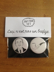 MAGRITTE button set