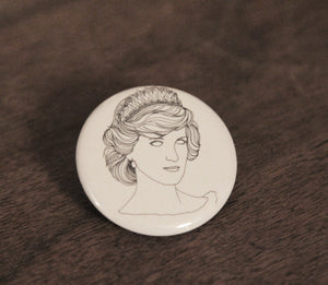 LADY DIANA badge
