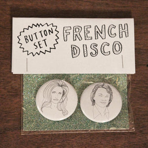FRENCH DISCO button set