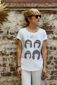 I MISS THE RAMONES women's tee