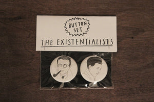 EXISTENTIALISTS button set