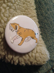 SABER-TOOTH TIGER badge