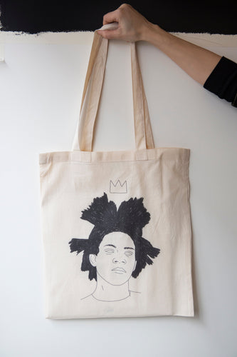 I MISS BASQUIAT tote bag