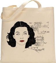 Load image into Gallery viewer, I MISS HEDY LAMARR tote bag