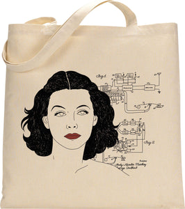 I MISS HEDY LAMARR tote bag
