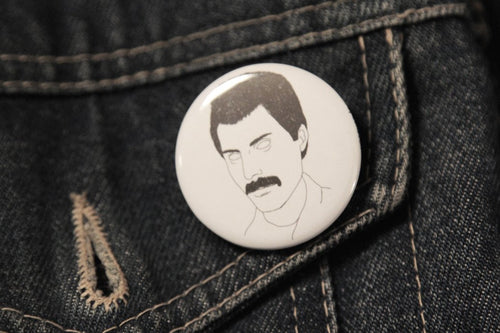 FREDDIE MERCURY badge
