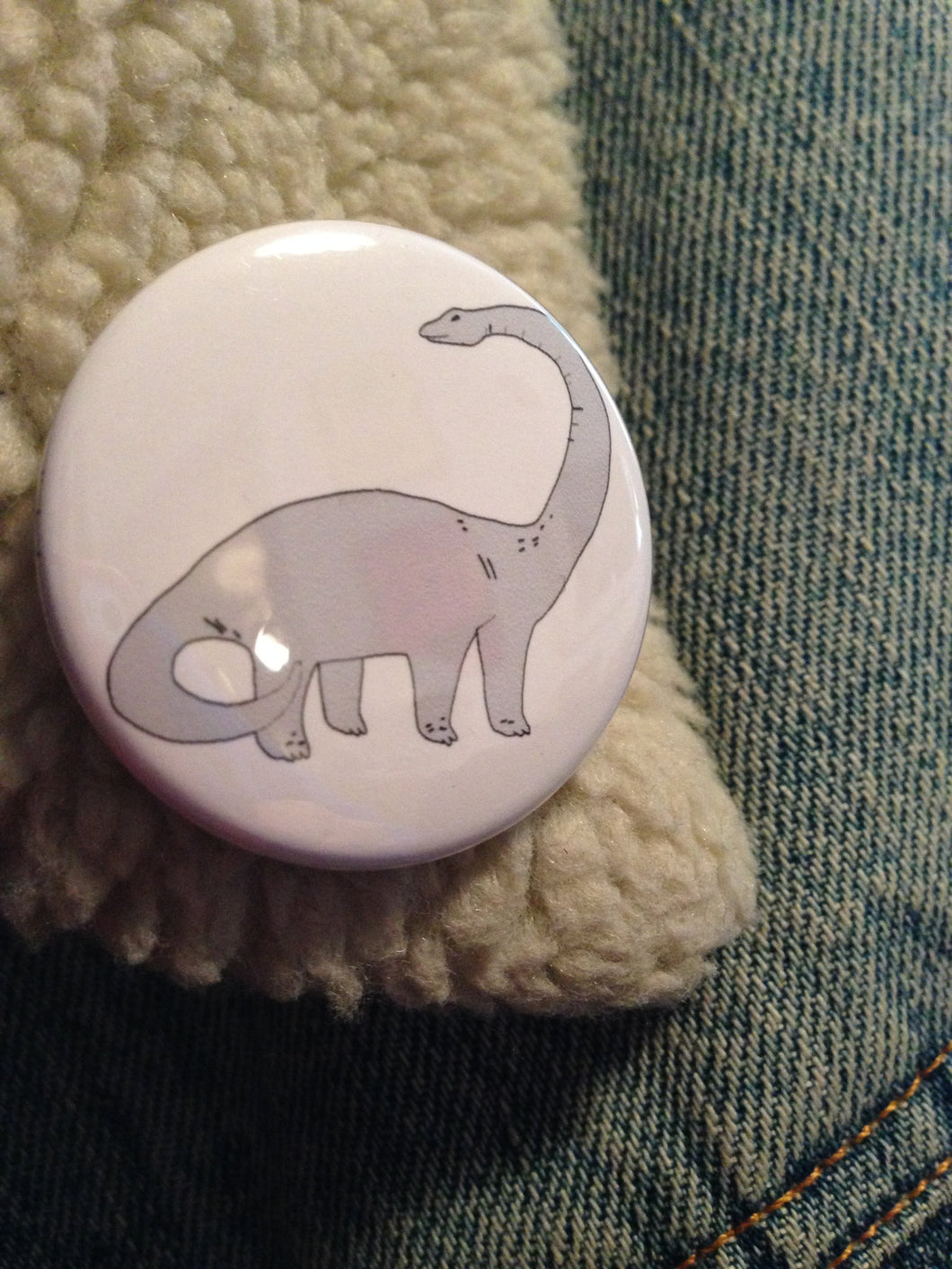 DIPLODOCUS badge
