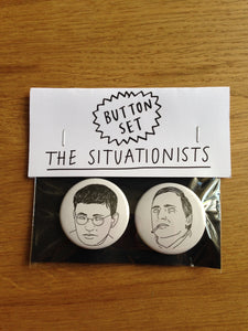 SITUATIONISTS button set