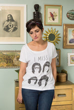 Load image into Gallery viewer, I MISS THE RAMONES women's tee