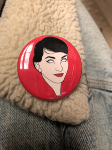 MARIA CALLAS badge