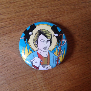 JOHNNY HALLYDAY badge