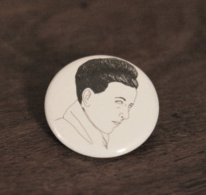 SIMONE DE BEAUVOIR badge