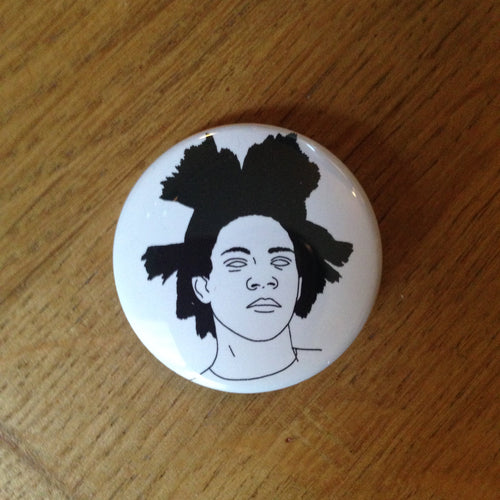 BASQUIAT badge