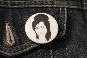 AMY WINEHOUSE badge