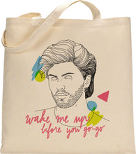 Load image into Gallery viewer, I MISS GEORGE MICHAEL tote bag