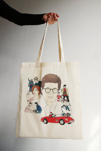 I MISS JOHN HUGUES tote bag