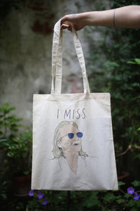 I MISS CHRISTOPHE tote bag - limited edition
