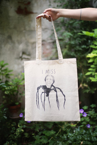 I MISS LOUISE BOURGEOIS tote bag