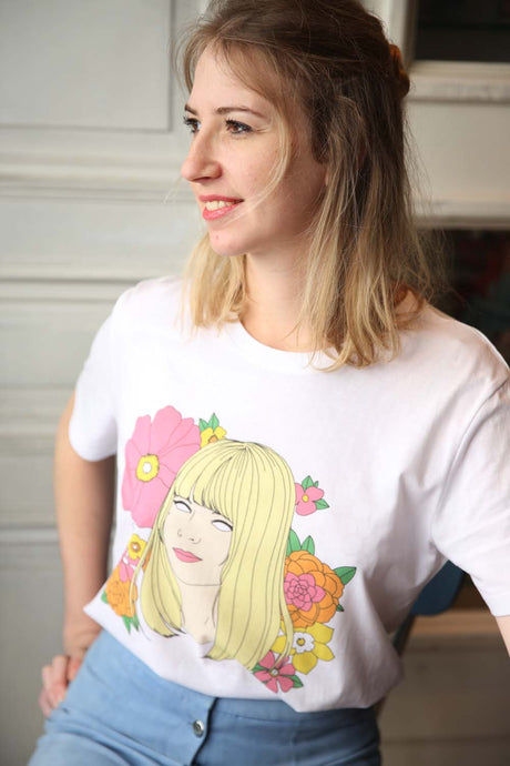 I MISS FRANCE GALL tee
