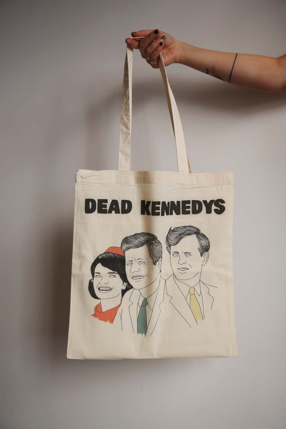 I MISS DEAD KENNEDYS tote bag