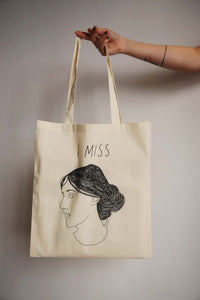 I MISS VIRGINIA WOOLF tote bag