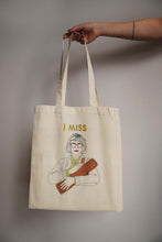 Load image into Gallery viewer, I MISS THE LOG LADY tote bag