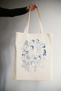I MISS THE QUEENS tote bag