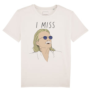 I MISS CHRISTOPHE tee - limited edition