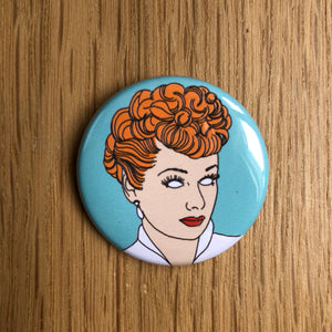 LUCILLE BALL badge