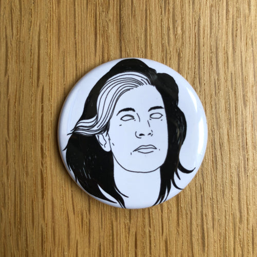 SUSAN SONTAG badge