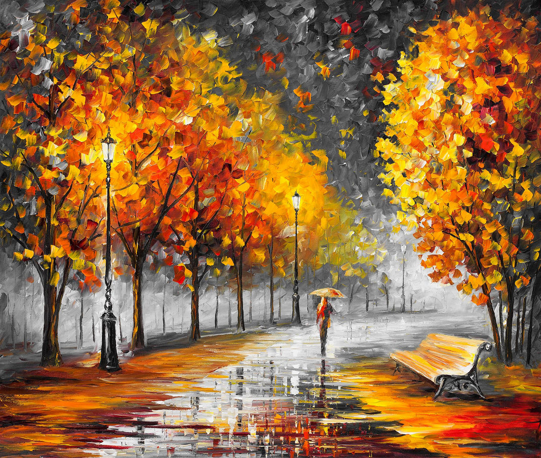 FALL MARATHON OF NATURE - Autorská replika z dílny Studia Afremov