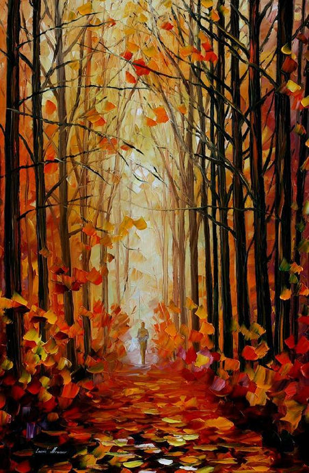 ORANGE PATH - Autorská replika z dílny Studia Afremov