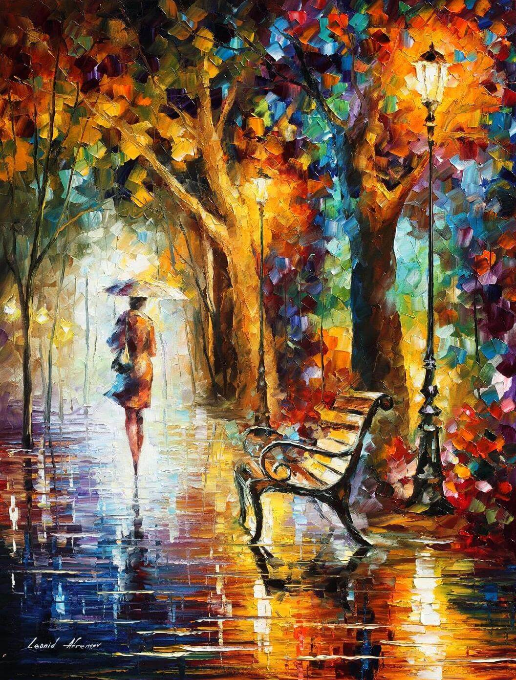 THE END OF PATIENCE - Autorská replika z dílny Studia Afremov
