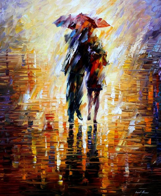 TOGETHER IN THE STORM  - Autorská replika z dílny Studia Afremov