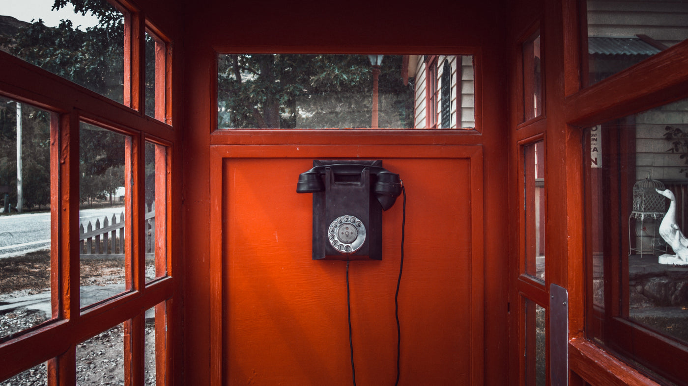 Phone Booth - AM Bespoke Contact Us Page