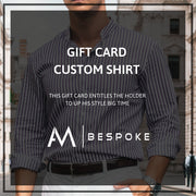 AM Bespoke - Gift Card Tailor made shirt