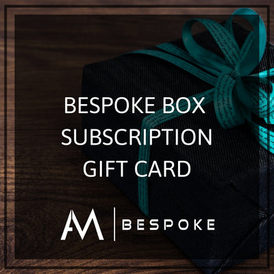 AM Bespoke - Subscription box gift card