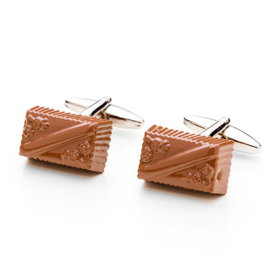 Milk Chocolate Cufflinks