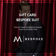 AM Bespoke - Gift card custom made suit